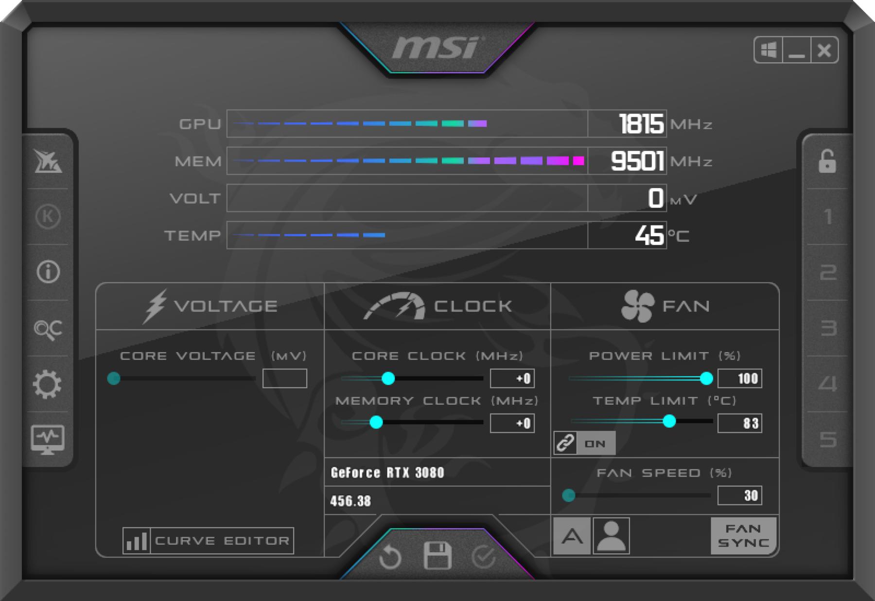 MSI RTX 3080 GAMING X TRIO 10G開箱