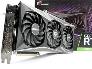 加入 iGame Status LCD 顯示 iGame GeForce RTX 3080 Vulcan OC 10G