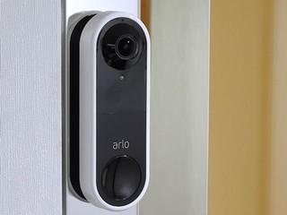 180 度門外監視、實時雙向通話 Arlo Video Doorbell 智能影像門鐘
