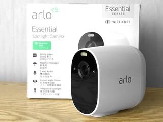 彩色夜視  全天候運作 Arlo Essential 無線雲端攝影機