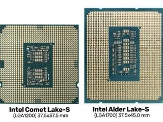 散熱孔距 78 x 78 不相容舊散熱器 Intel 12 代 Alder Lake-S 需使用新扣具
