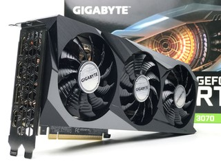全新 GA104-300 繪圖核心 !! GIGABYTE GeForce RTX 3070 Gaming OC