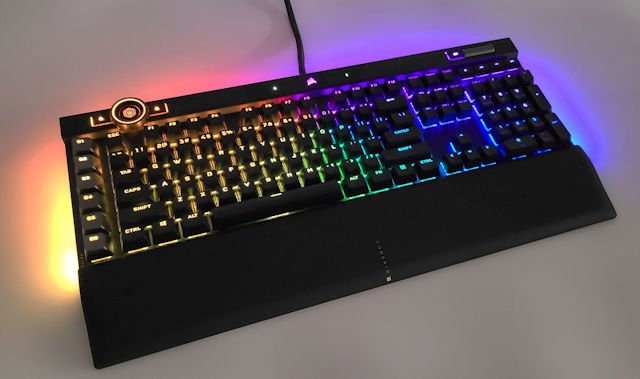 CORSAIR K100 RGB 電競機械鍵盤 開箱