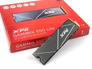 主流級 Gen 4 SSD 來了 !! ADATA XPG GAMMIX S50 Lite 1TB SSD