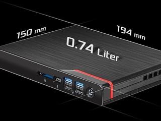 【全球最薄 AMD 迷你機】26mm 厚度塞入 8 核 U 華擎再出「妖機」Mars 4000U 系列 Mini-PC