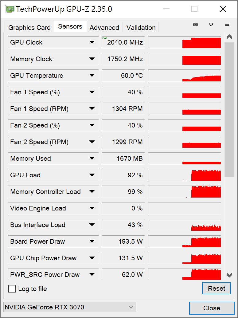 GALAX GeForce RTX 3070 SG