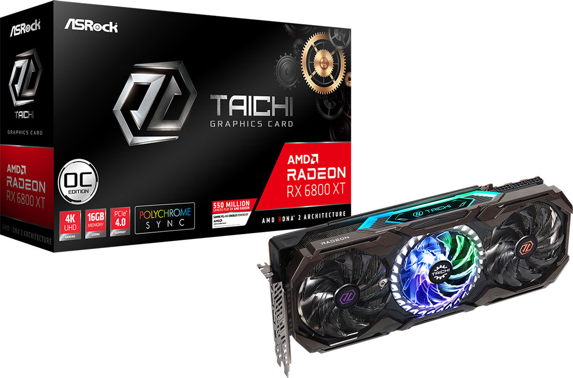 RX 6800 XT Taichi X 16G OC