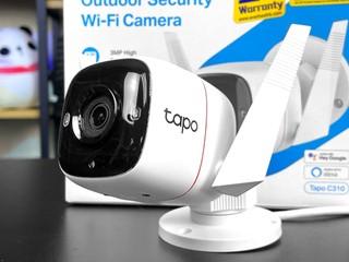 IP66 防水、3MP 超高解析度 TP-Link Tapo C310 戶外網絡攝影機
