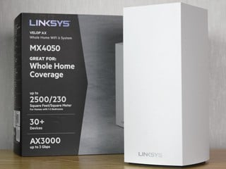 最平三頻 Wi-Fi 6 Mesh !! LINKSYS Velop MX4050 詳細拆機實測