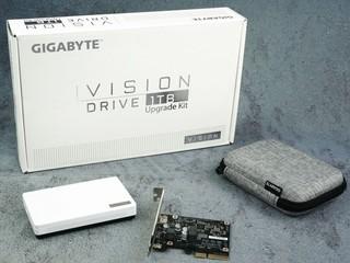 20Gbps USB-C 極速傳輸 !! GIGABYTE VISION DRIVE 1TB 外置 SSD