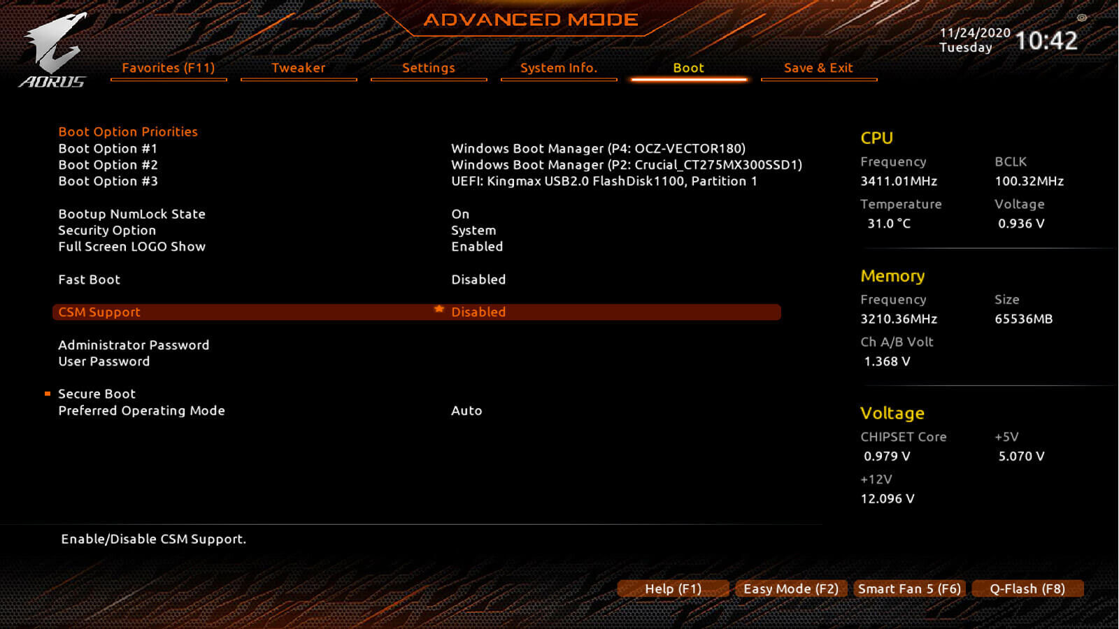 GIGABYTE AMD BIOS