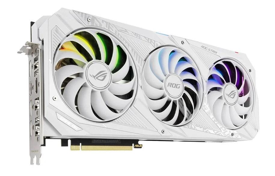 GeForce RTX 30 ROG STRIX White