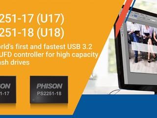 【全球首款 + 最快!!】讀寫達 1.9GB/s、最大 4TB Phison 原生 USB 3.2 Gen2x2 隨身碟控制晶片