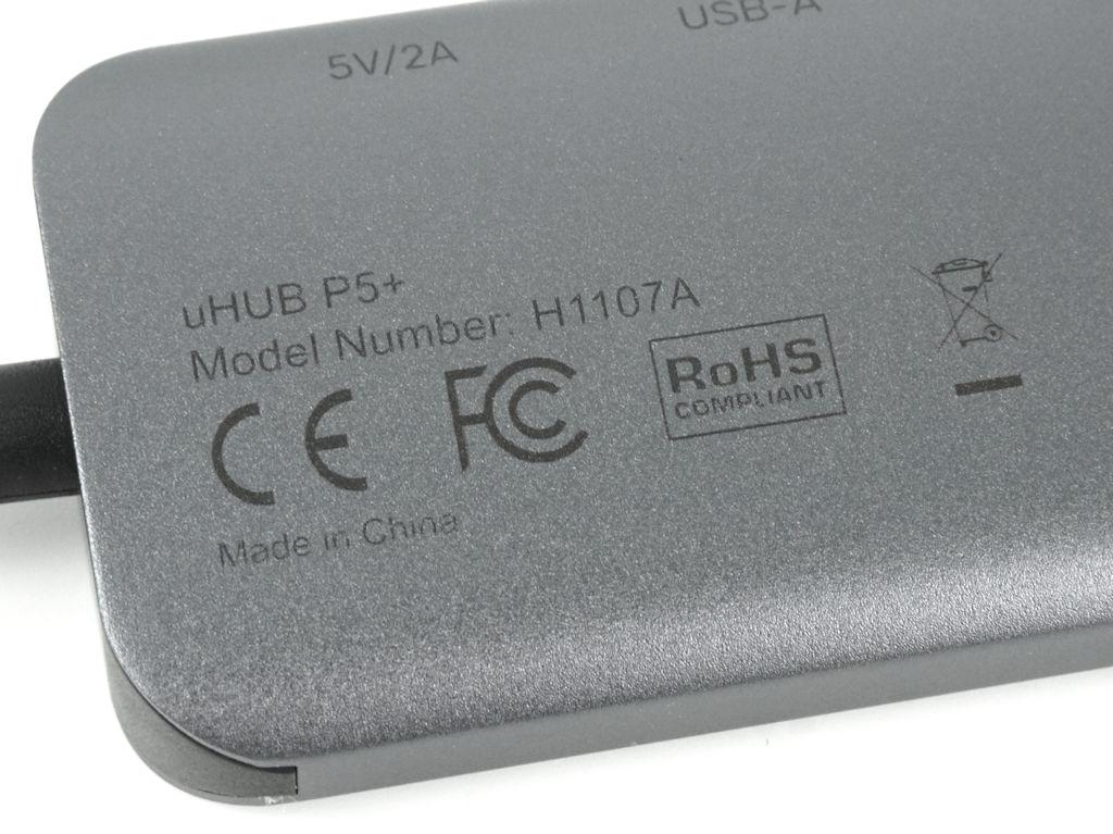 UNITEK uHUB P5+ 系列取得多項認證