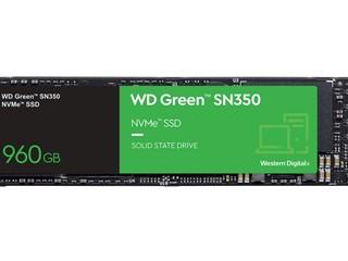 新版 WD Green SN350 NVMe SSD 登場 960GB 僅 80TBW  全碟每天寫入 0.1 次
