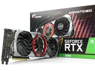 支援 OC Button 一鍵超頻 !! iGame GeForce RTX 3060 Advanced OC 12G