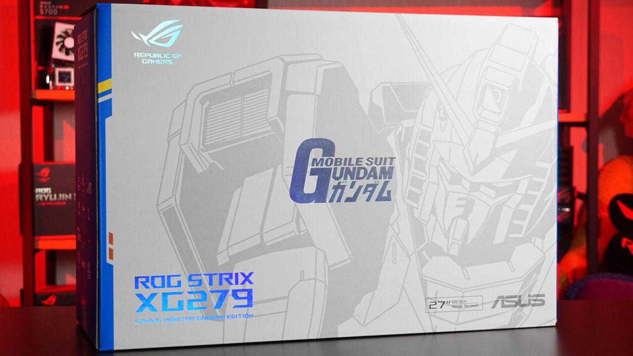 ROG Strix XG279Q GUNDAM EDITION