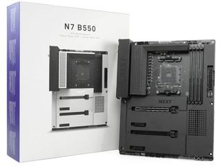 終於有 AMD X NZXT 板啦 !! NZXT N7 B550 MATTE BLACK 主機板