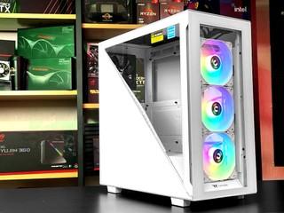 Divider 設計、強化 GPU 散熱 Thermaltake Divider 300 TG ARGB 機箱