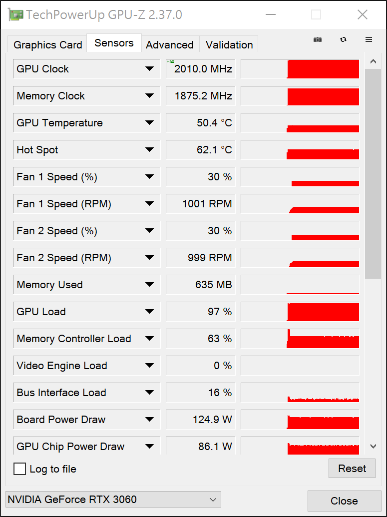 ASUS ROG STRIX GeForce RTX 3060