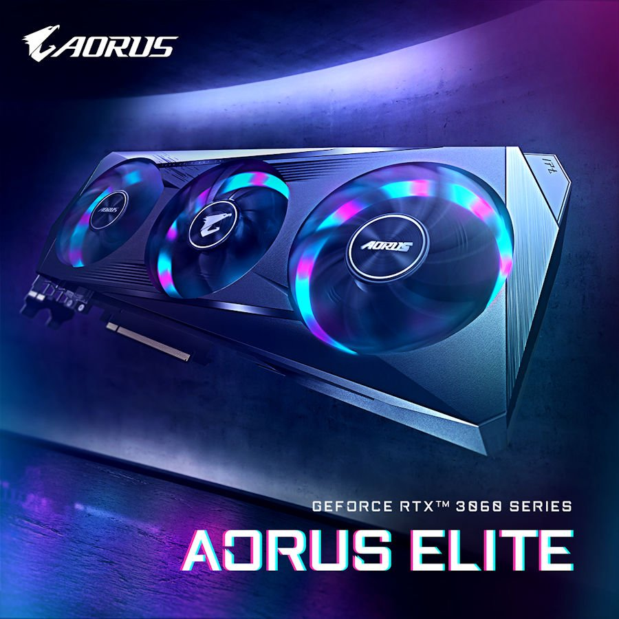 AORUS GeForce RTX 3060 ELITE 12G