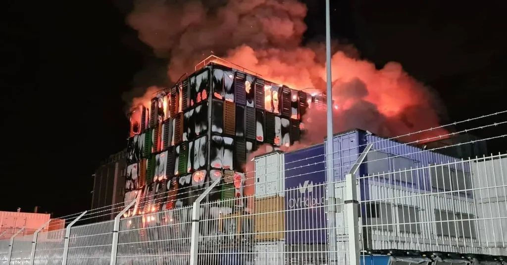 OVH Data Centre Fire
