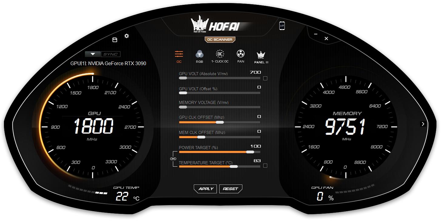 GALAX RTX 3090 HOF Premium 效能測試