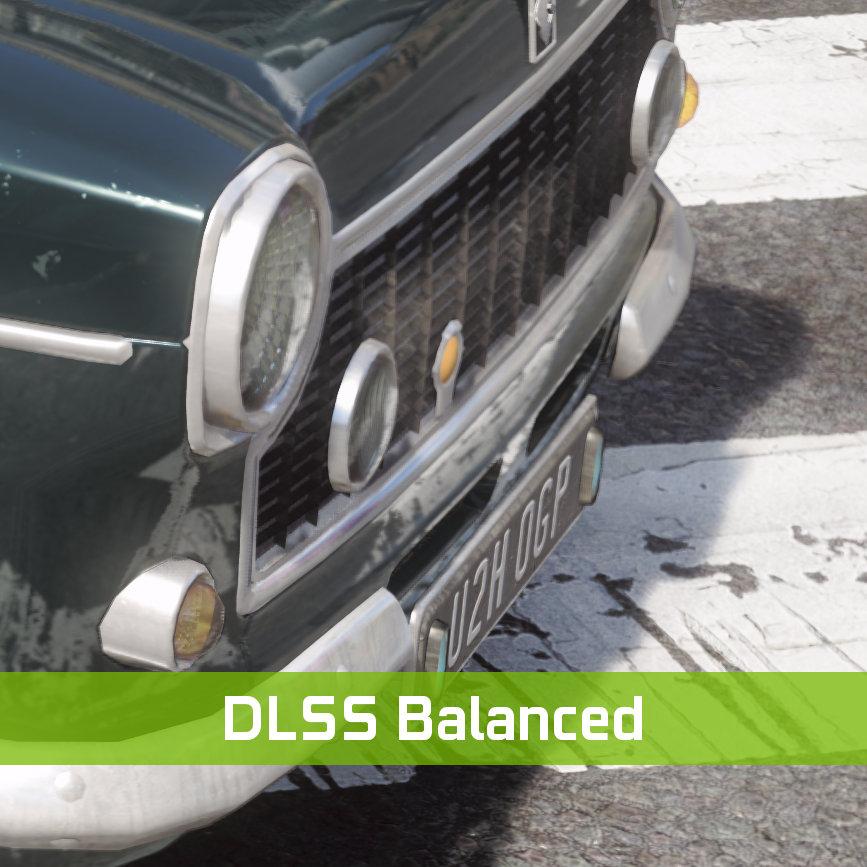 DLSS 級別比較