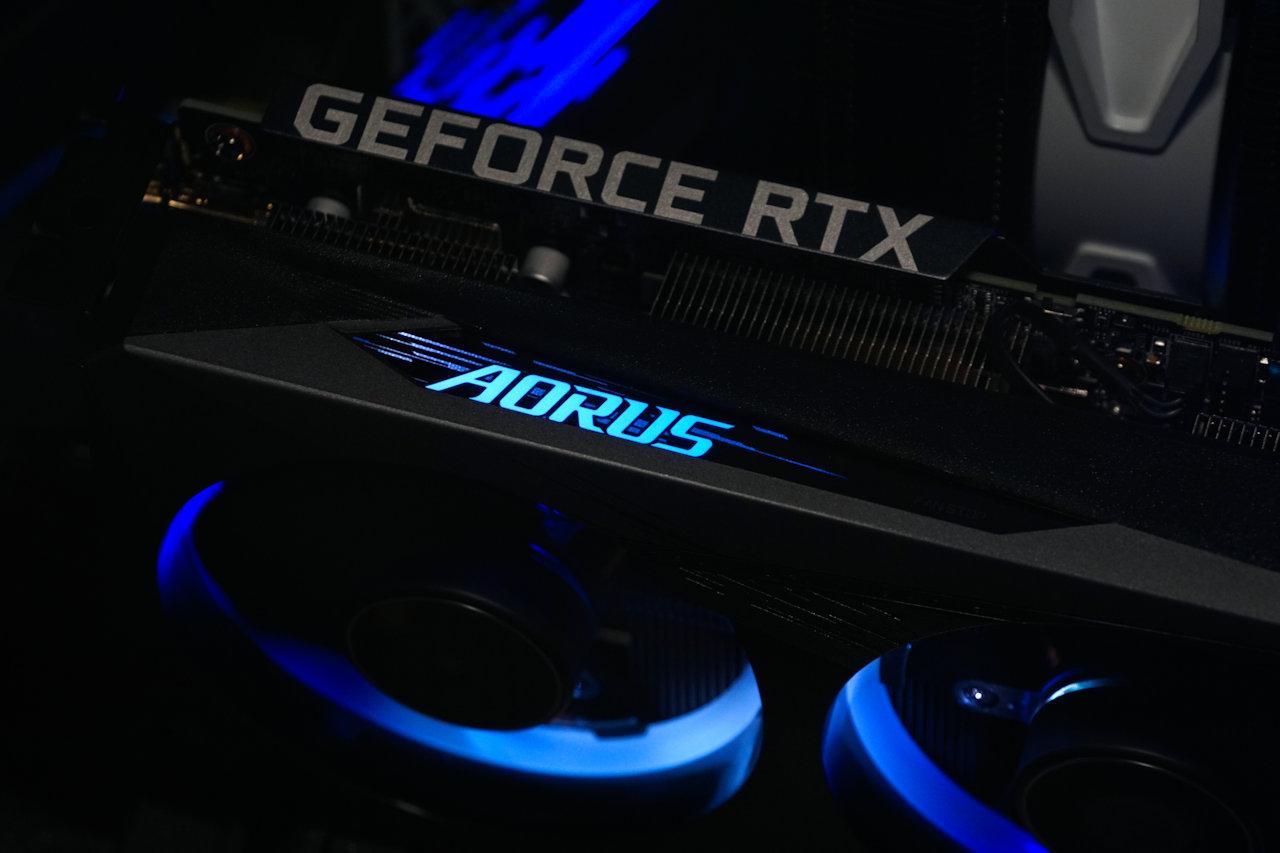 AORUS GeForce RTX 3060 ELITE 開箱