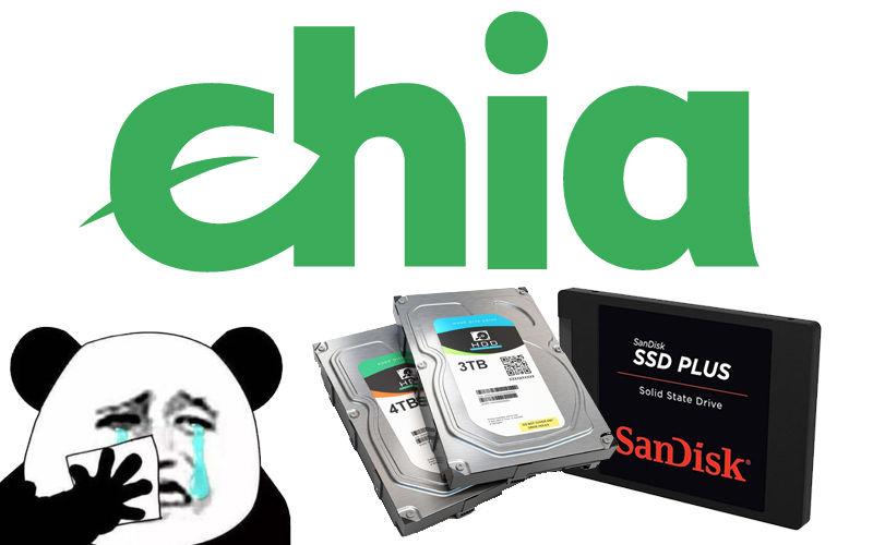 GALAX SSD Chia
