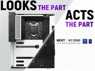 12+2 DrMOS 供電,支援最高 DDR4-4600MHz 【NZXT 粉注意!!】全新 N7 Z590 主機板來了