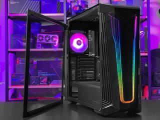 Dark Mirror + Ether 燈效 Cooler Master MasterBox 540 Mid-Tower 機箱