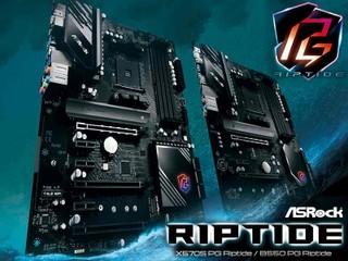 【10 相供電 + 60A 電感】表面樸實 實則效能強勁 ASRock「激流」新板 X570S/B550 PG Riptide