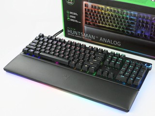 模擬 Analog 的光學數位軸 !! Razer Huntsman V2 Analog 電競鍵盤