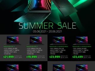 【最後召集!!】Razer Blade Summer Sale GTX 30 系筆電瘋狂劈價  最多減 HK$3,000
