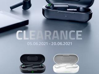 【🛍 Razer Clearance Sale 🛒】 Hammerhead True Wireless 無線耳機減至 $629