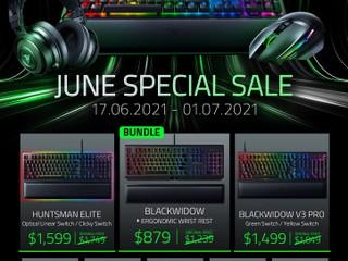 🤩 Razer June Special Promotion 🤩 特選 Razer 週邊產品 2 星期快閃大特賣