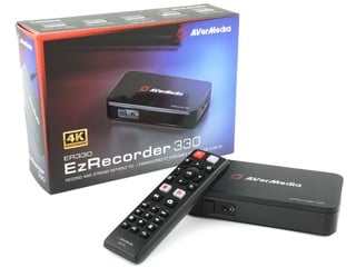 免電腦可直播錄影 AVerMedia EzRecorder 330 擷取盒