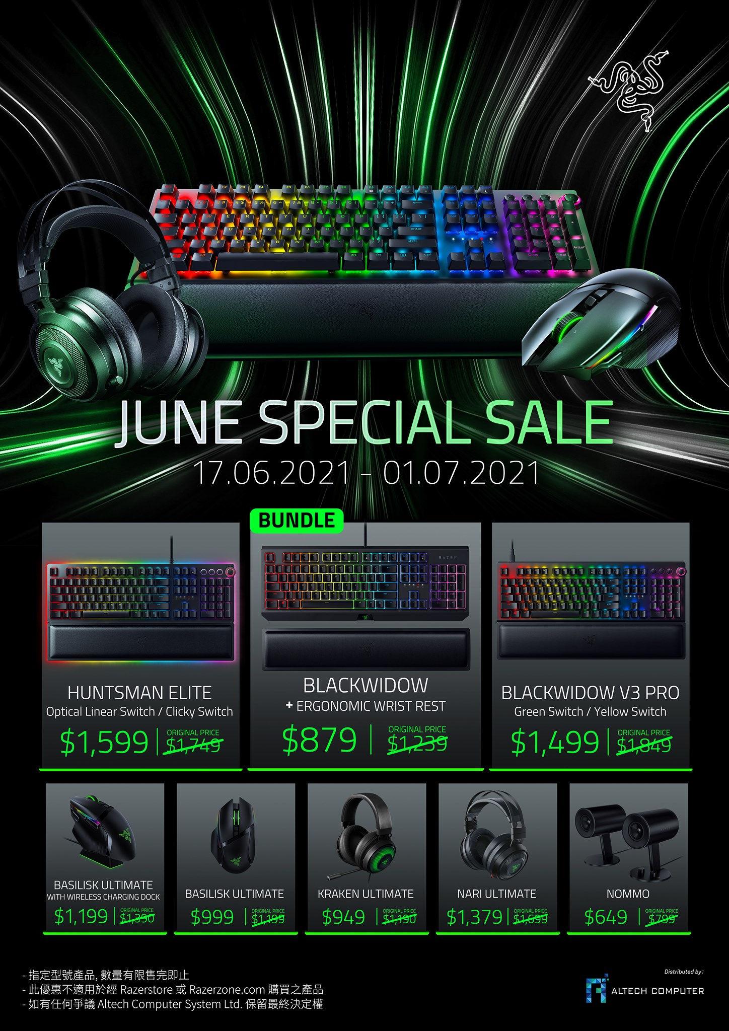 Razer June Special Promotion