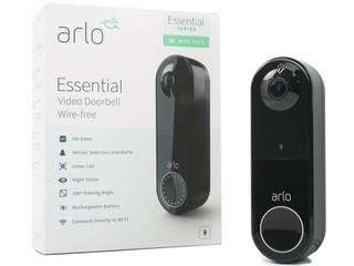 免鑽洞佈線、超廣角門外監控 Arlo Essential Video Doorbell 智能影像門鐘