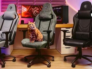 【貓奴注意】唔使再怕貓咪搲爛你張櫈喇 !! MSI 推出全新 MAG CH130 I 系列防貓抓電競椅