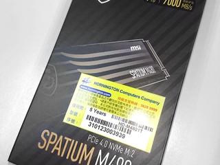 【腦場掃地僧 ㊙️ 】MSI 真係越撈越過界 MSI SPATIUM M470 / M480 Gen4 SSD 正式賣街