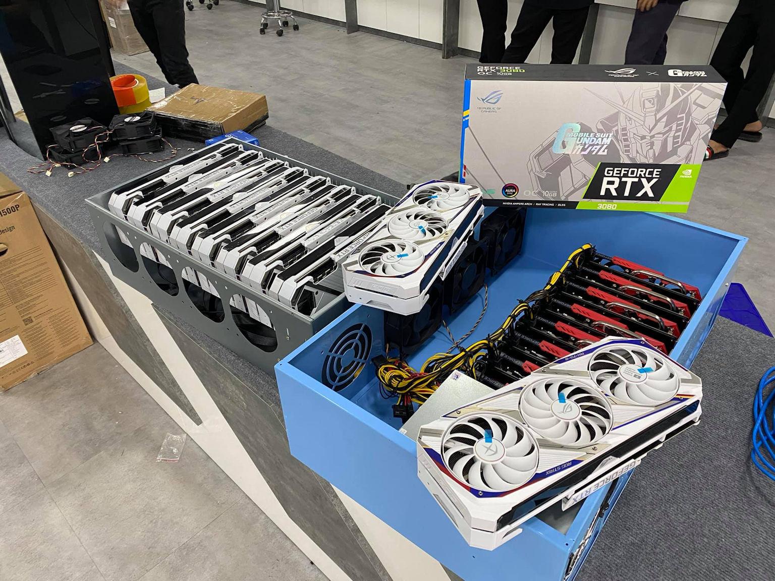 RTX 3080 GUNDAM Edition