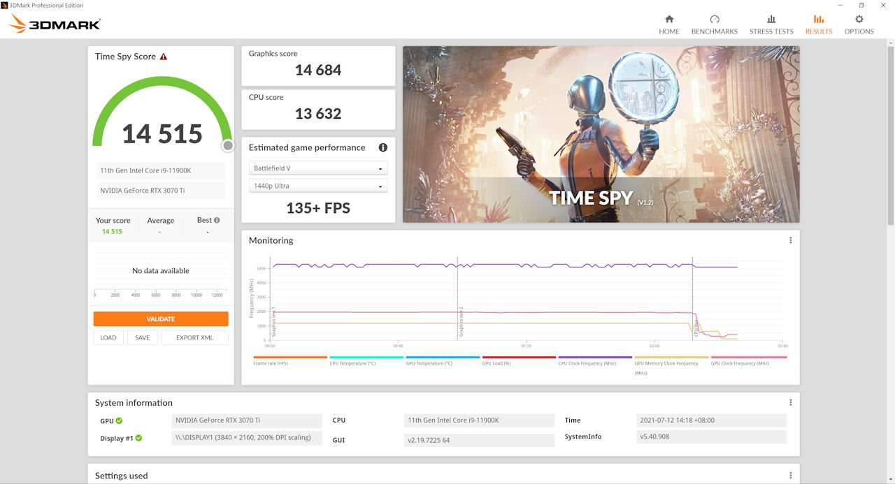 iGame GeForce RTX 3070 Ti Advanc