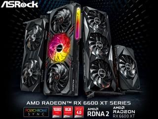 【有齊 3 風扇長卡 ~ 單風扇 ITX 短卡畀你揀】 華擎發佈全新 Radeon RX 6600 XT 系列顯示卡