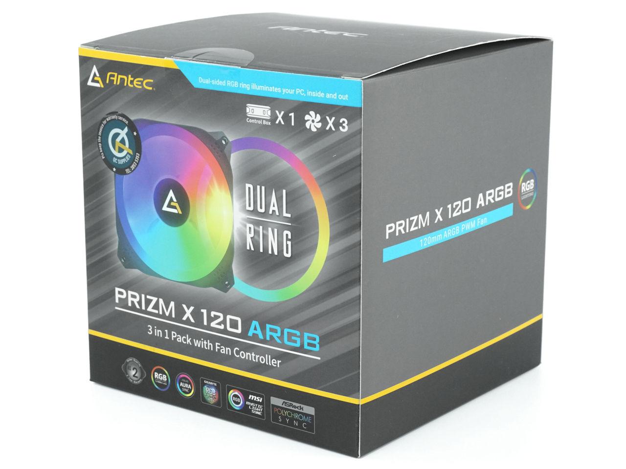 Antec Prizm X 120 ARGB 3+C