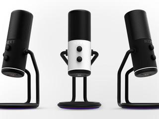 【手叉腰廁紙筒型設計 黑、白兩色可選】 NZXT 全新 Capsule USB 麥克風香港賣街!!