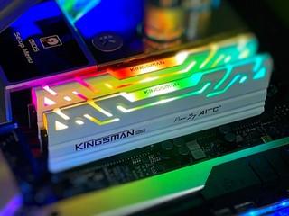 台灣品牌、高性價比 !! KINGSMAN Gaming RGB D4-3200 32GB Kit