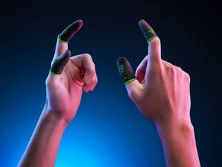 【電莖損手專用 !? 讓那些汗濕的手指遠離屏幕】 Razer Gaming Finger Sleeve 指套賣 $9.99 美元
