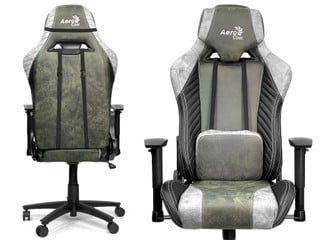 無紡科技布料、柔韌透氣 !! AeroCool BARON AeroSuede 電競椅